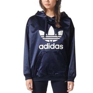 Adidas Satin Trefoil Hoodie